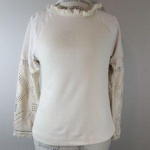 Zara NWT size small studded sweatet